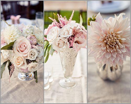 Best ideas about blush wedding centerpieces on