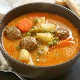 Meatball Stew This is the perfect dish when you are in the mood for stew but not in the mood to wait for 3 hours. This dish from start to f...