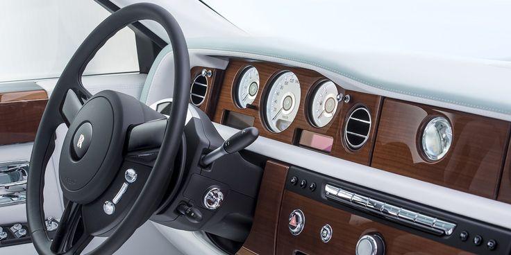 El nuevo Rolls-Royce viste de seda