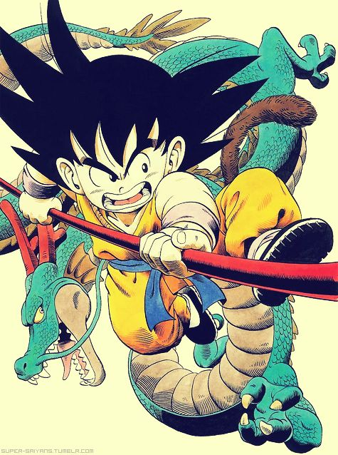 Dragon Ball - Goku and Shenron - Visit now for 3D Dragon Ball Z shirts now on sale!