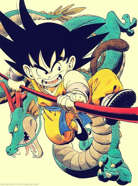 Dragon Ball - Goku and Shenron