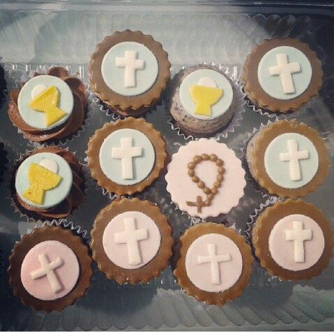 Minicupcakes primera comunión