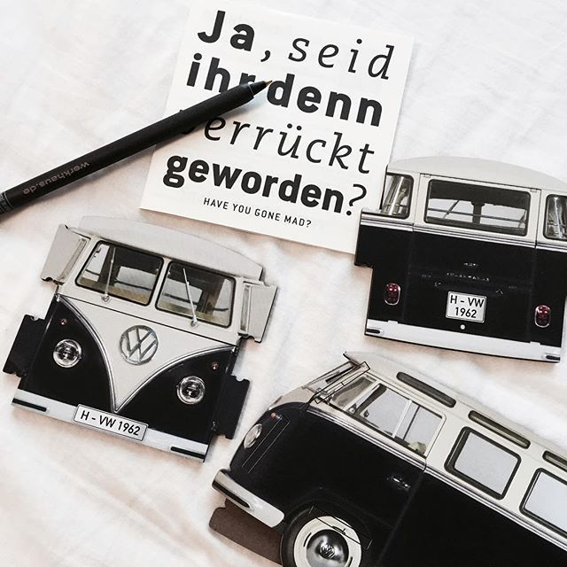 Love everything about this company Werkhaus... Well designed products, cool philosophy, green, VOLKSWAGEN, irreverent.. We'v got some of their many designs in our shop at DasStuff.com