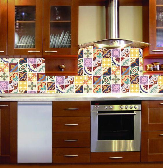 63 mejores im genes sobre azulejos vinilo en pinterest for Vinilo azulejo hidraulico