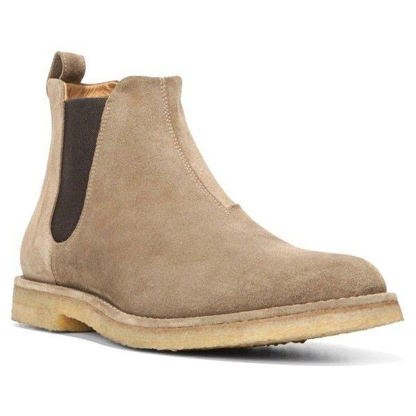 Men's Vince 'sawyer' Chelsea Boot (1.115 BRL) ❤ liked on Polyvore featuring men's fashion, men's shoes, men's boots, flint suede, mens shoes, mens beatle boots, vince mens shoes, mens boots and mens chelsea boots