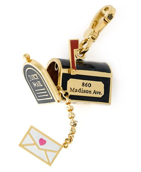juicy couture charms | juicy couture juicy jewelry mail box charm juicy couture mailbox xharm