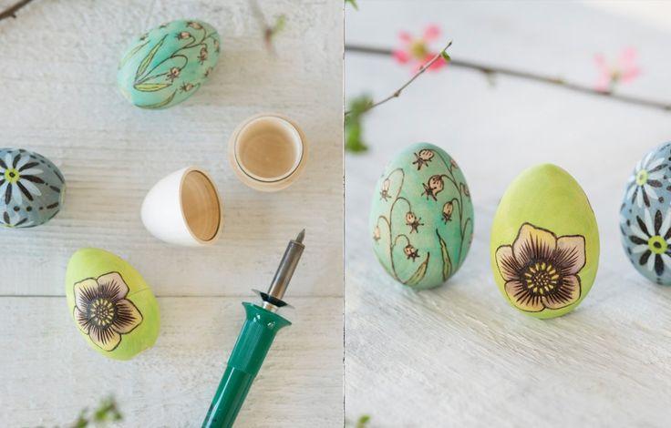 Shop Hollow Linden Wood Egg, Wood Burning Kit and more