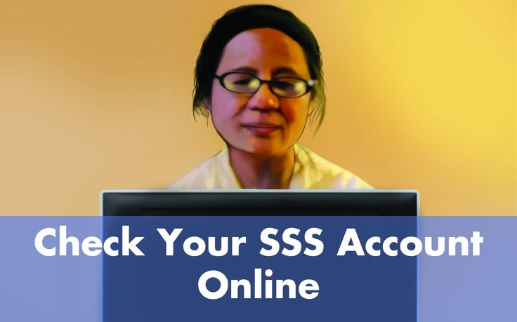 SSS Online Inquiry: Contributions, Loan Balance and Status, and Applications