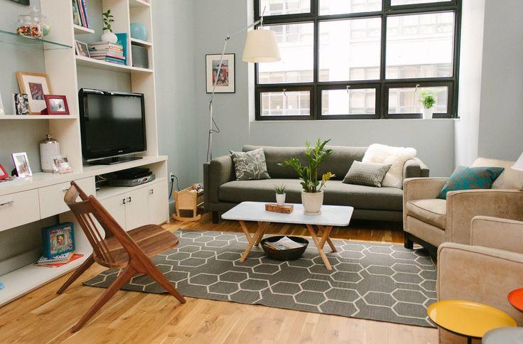 Qual a distância ideal entre o sofá e a TV?
