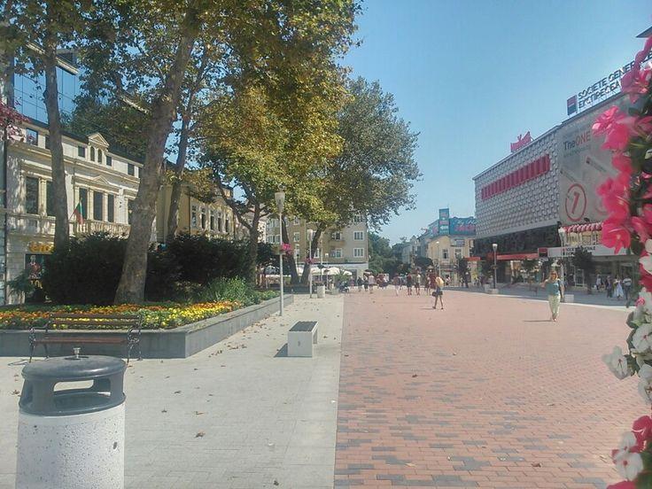 New center of  Varna