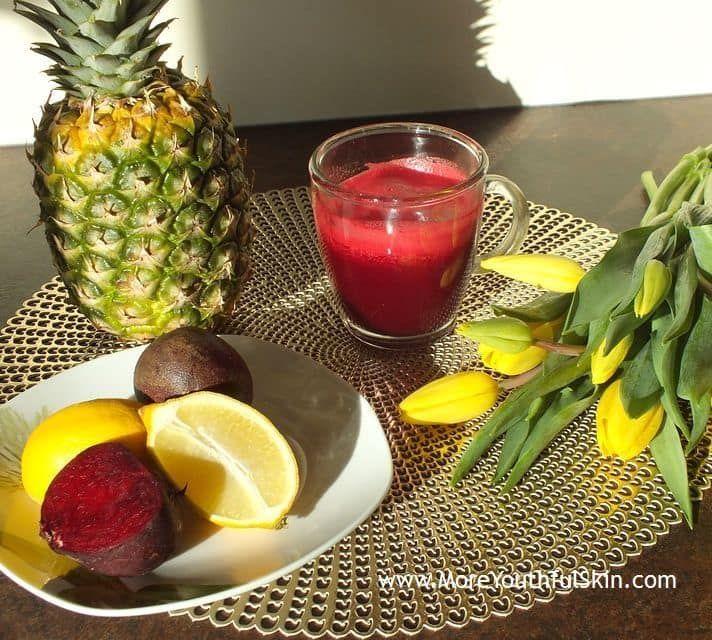 Ananas-Rotrübensaft - Ananas-Rotrübensaftmit organischen Säuren, die Ihre Immunität stärken wird  Was tun gegenFrühjahrsmüdigkeit? Organische Säuren herstellen dasSäure-Basen-Gleichgewicht wieder Nach dem Winter, unser Körper ist geschwächt, aus Mangel an Sonnenlicht erschöpft und mit der Ankunft des Frühlings... - http://moreyouthfulskin.com/de/ananas-rueben-saft/