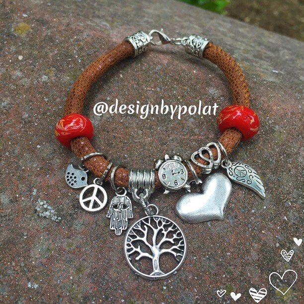 Sevgi❤️ dostluk❤️şans❤️ bilekliklerim 🎵🎵🎵 #designbypolat #bileklik #bracelet #boho #bohemian #fashion #infinity #traditional #uniquejewelry #treeoflife #hamsa #love #leaf #peace #bird #clock #handmade #hippiestyle #istanbul #galata #leatherbracelet #deribileklik #mothersday #annelergünü #bestoftheday #like4like #likeforlike