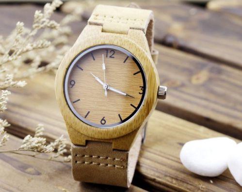 bamboo wood watch - woodary