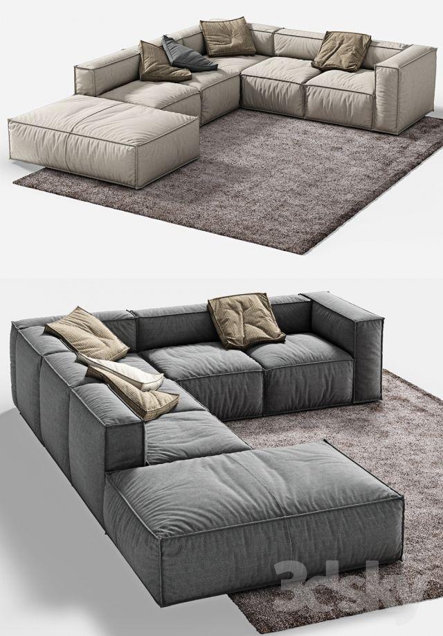 3d Models Sofa Bonaldo Peanut B 2 Living Room Sofa Set Luxury Living Room Living Room Sofa Design