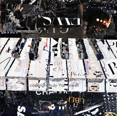 Suzy 'Pal' Powell Collages: Piano