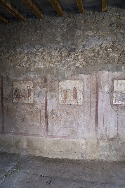 pompeii wall writing art