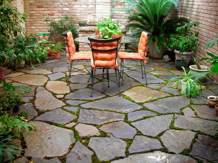 20 best stone patio ideas for your backyard - Backyard Stone Patio Ideas