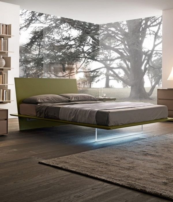 Attractive 30 Brilliant Floating Bed Design Ideas That Make Dreams Great Ideas