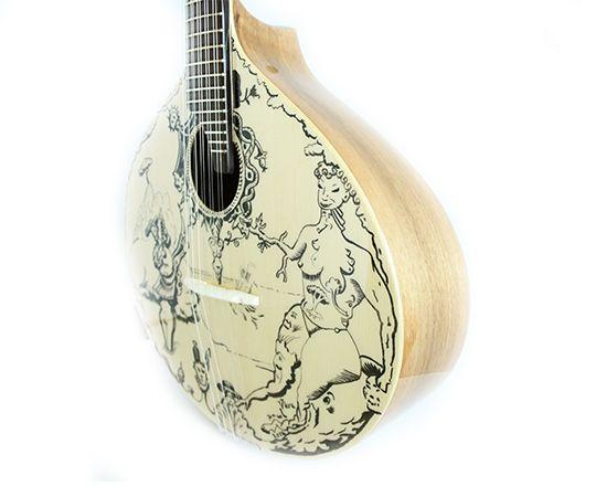 """The Portuguese symbol is Fado! """"Guitarra Terra e Mar"""" By Manuel Vieira Guitar"""