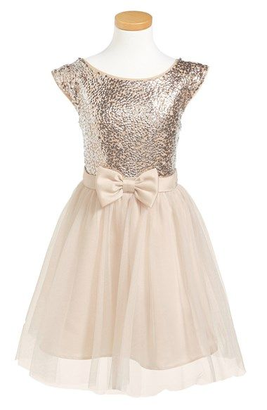 Sequined party dress for girls http://rstyle.me/n/pr52dnyg6