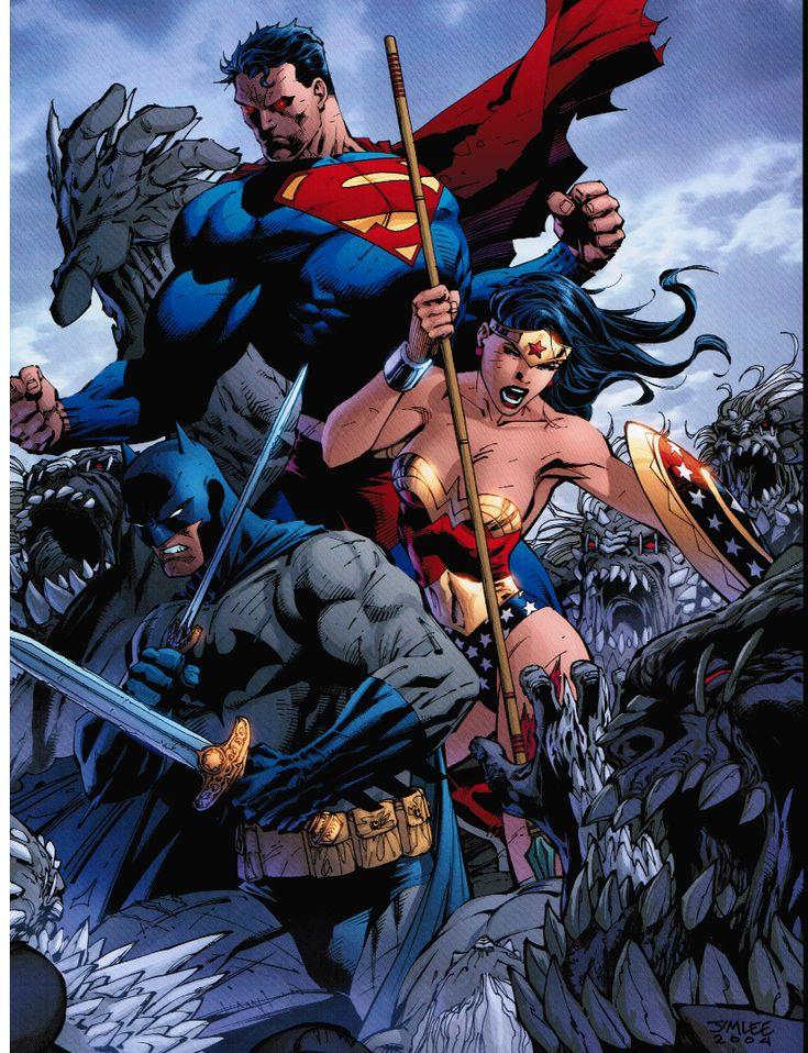 Superman Batman Wonder Woman New 52   www.pixshark.com ...