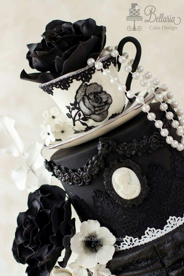 ... gothic cakes sur Pinterest  Gâteaux, Gâteaux de mariage et Gothique