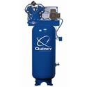 Quincy 5-HP 60-Gallon Two-Stage Air Compressor (230V 1-Phase). 50,000 hour- or more- pump life rating. You will spend more money up front, but in the long run (some Quincy air compressors are still running after 25 years!) it will be money well spent.