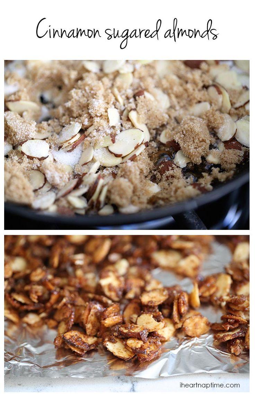 How to make cinnamon sugared almonds ... so easy to make!
