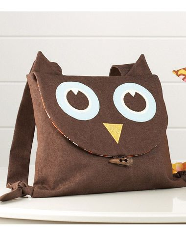 Owl Back Pack. Can someone please tell me why owls are taking over the world? ? ?