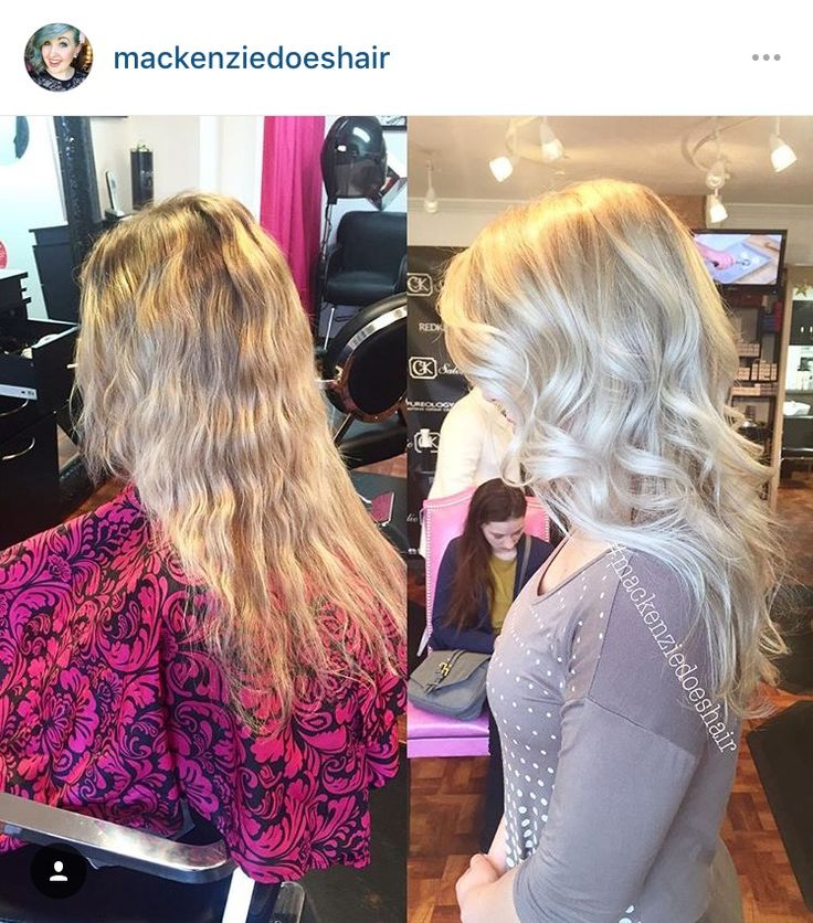 Recharged Carly S Blonde With A Full Balayage Toned With