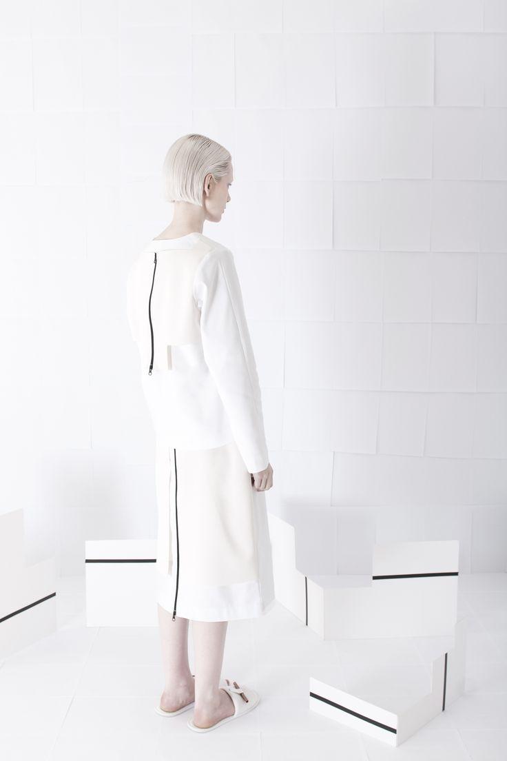 SS15 - Womenswear #orphanbird #ss15 #womenswear #minimalfashion #whitefashion #contemporary #editorial #allwhite