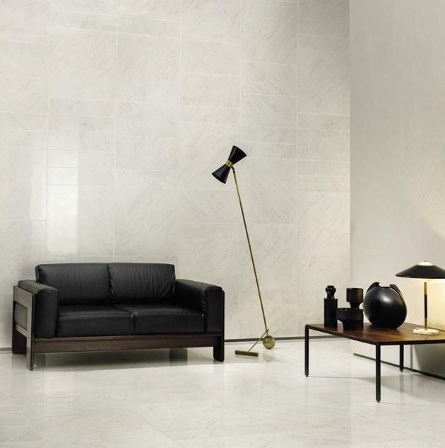 "Carrara Polished 12""x24"" + 6""x24"" (walls) and 24""x24"" (floors) #unicomstarker"