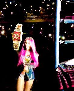 missin that belt on her