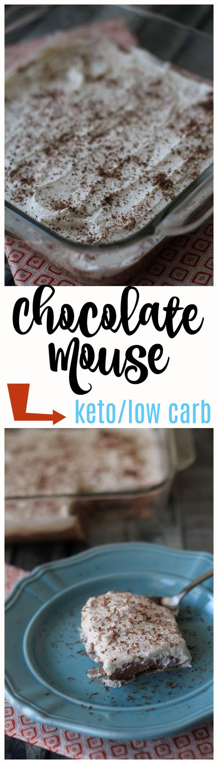 This Chocolate Mousse is absolutely delicious. I've already made it 2 times since last week and my family loves it. It's the perfect treat with only 2 carbs per serving.