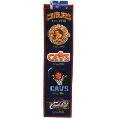 """Cleveland Cavaliers 8""""x 32"""" Banner"""