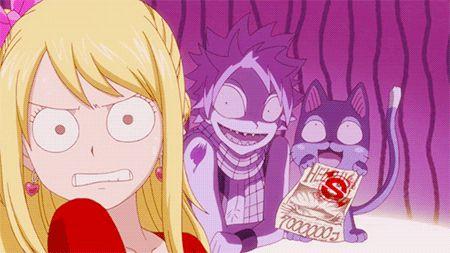 fairy tail anime gif I rambert this episode...Now I'm on season 7 so many memories ❤