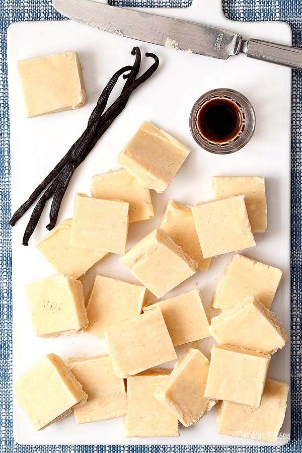 This melt-in-your-mouth easy vanilla fudge recipe made with vanilla beans will quickly become your new favorite fudge. Who knew vanilla could taste this good?