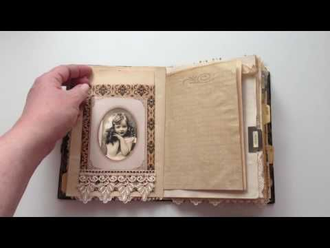New Junk Journal Tutorials, Tips and Inspiration! - YouTube