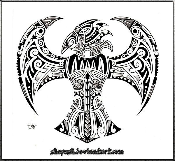 polynesian bird tattoo design tattoo ideas pinterest birds bird tattoos and tattoo designs. Black Bedroom Furniture Sets. Home Design Ideas