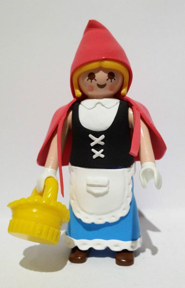 FIGURA PLAYMOBIL CUSTOM Caperucita Roja - Le Petit Chaperon rouge