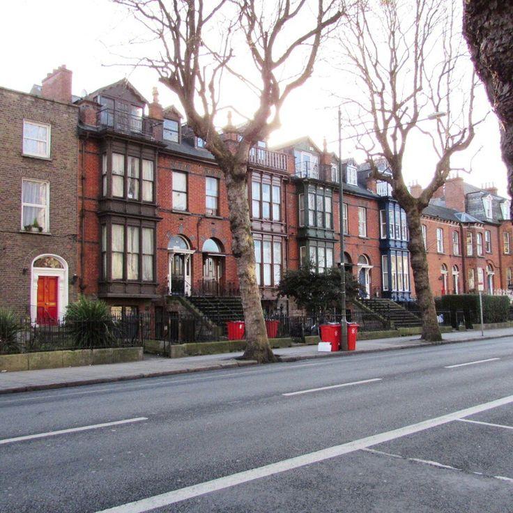 Pretty houses along Harrington St., Dublin 8