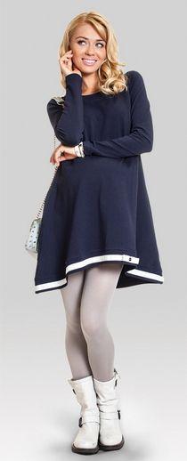 Одежда для беременных, Lulu хлопковая туника свободного кроя для беременных