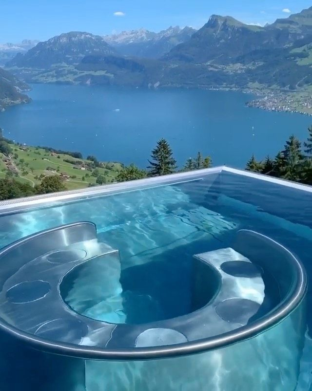 Best Hotel In Switzerland With Infinity Pool Nature On Instagram Views From Switzerland Tag Someone You D Relax Here With Video By Lumadeline Hotels And Resorts Hotel Beautiful Places To Travel