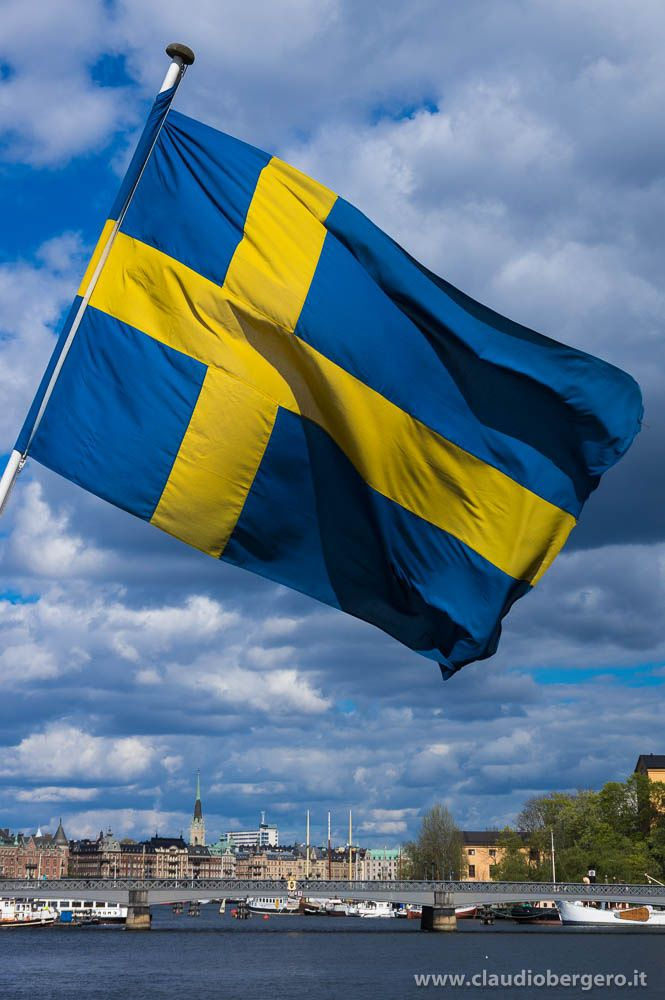 Sweden flag by Claudio Bergero - Photo 120500687 - 500px