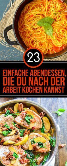 25+ melhores ideias de Schnelle einfache gerichte no Pinterest - leichte und schnelle küche
