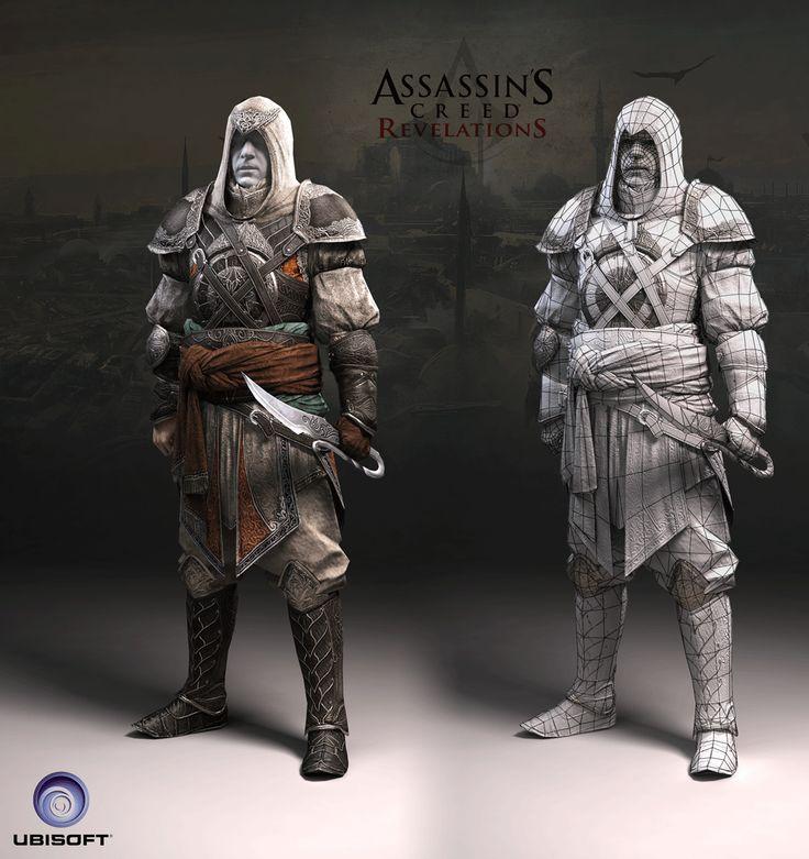 Alex Troufanov Character Artist Portfolio