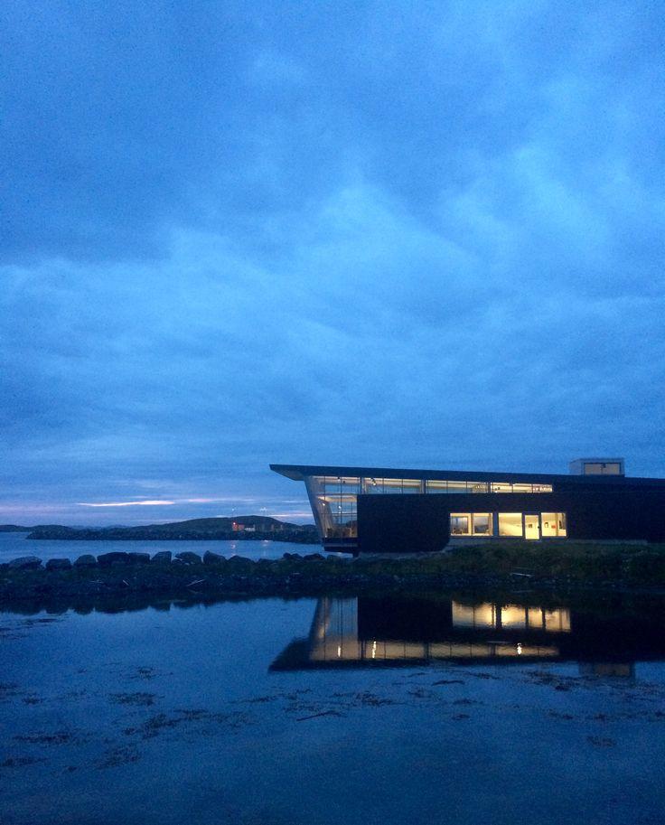 Бассейн в Норвегии 😊