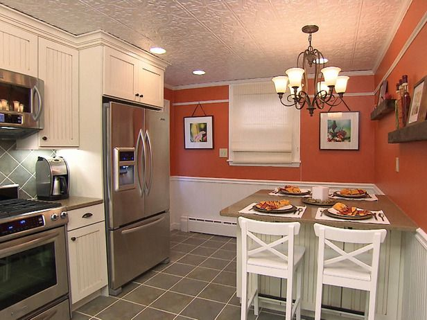 Orange Kitchen Walls 31 best kitchen and living room color ideas images on pinterest