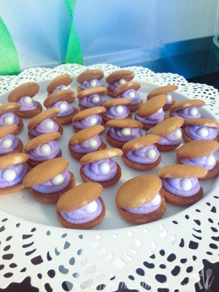 Idée la petite sirène disney anniversaire gâteau - cake - diy - cuisine - pâtisserie - sweet table - birthday party - kids - enfants - ariel the little mermaid - Disney - décoration