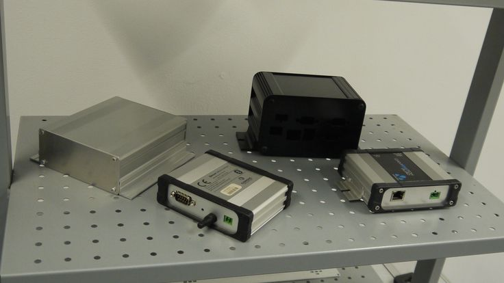 Examples of finished enclosures.